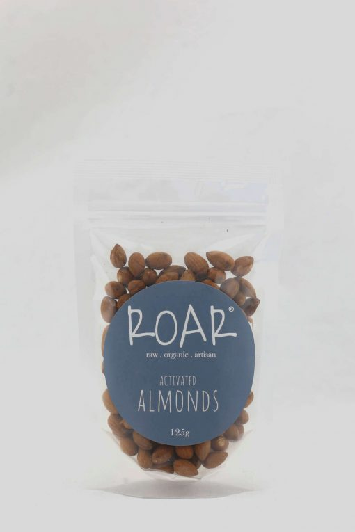 ROAR org almonds activated 125g front.JPG