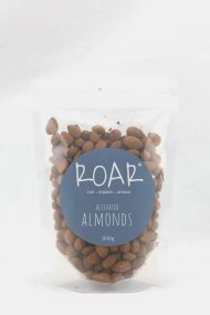 ROAR organic almonds activated 250g front.JPG
