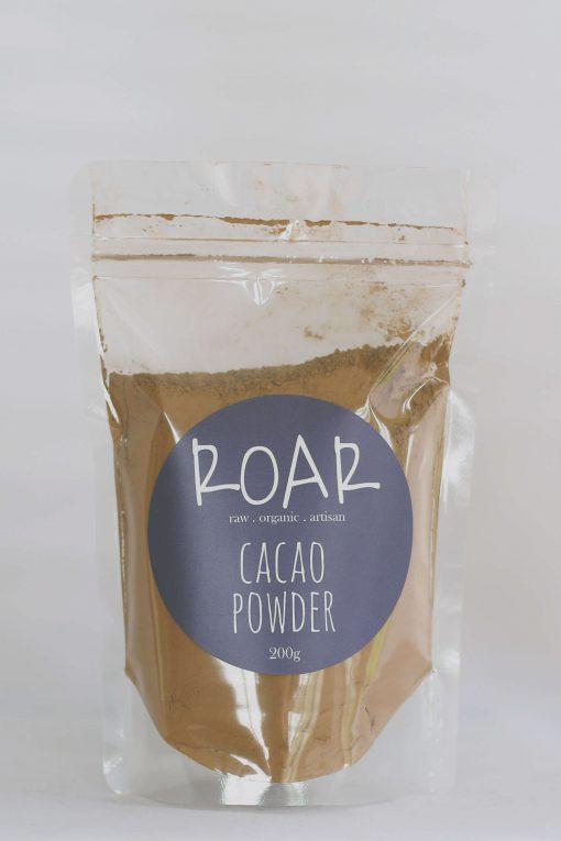 ROAR org cacao powder raw 200g front.jpg