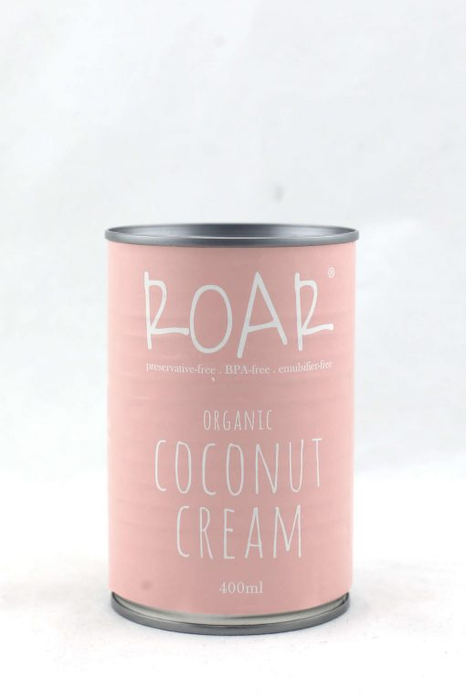 ROAR organic coconut cream bpa fee 400ml front.JPG