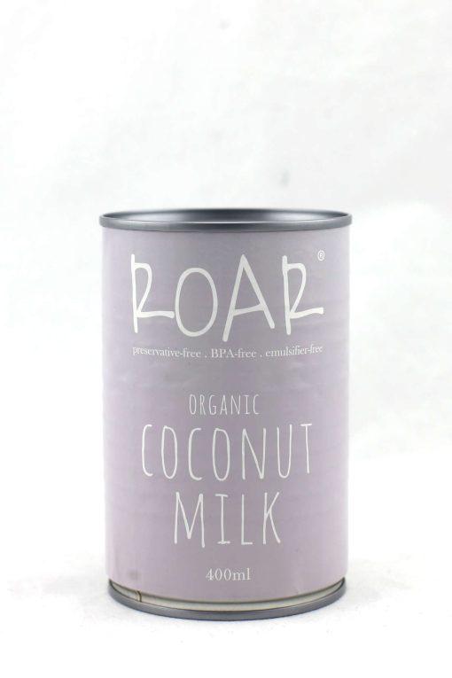 ROAR organic coconut milk bpa fee 400ml front.JPG