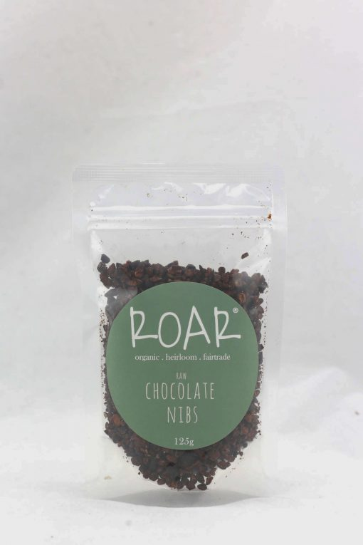 ROAR org chocolate nibs raw 125g front.jpg